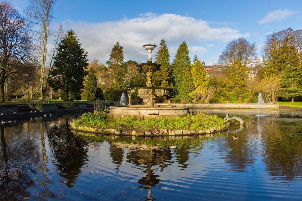 Fitzgerald Park in Cork, Ireland